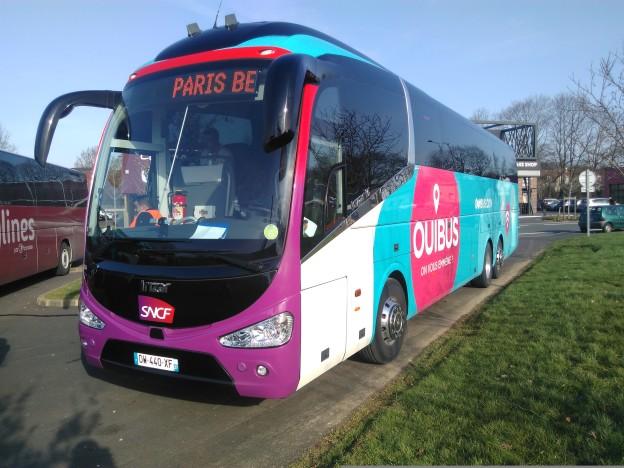 Un bus OuiBus
